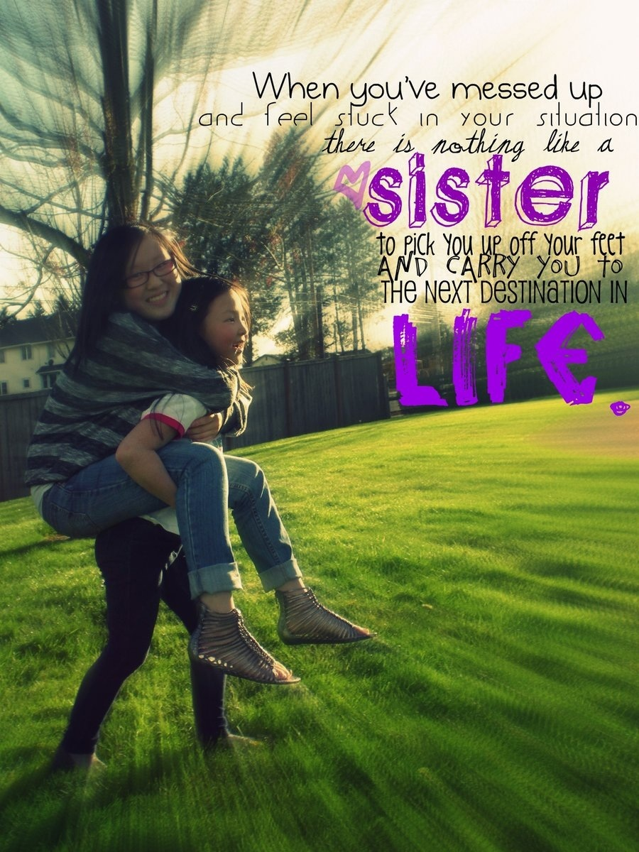 Love You Sister Quotes 20 Best Sister Quotes  Creativemisha