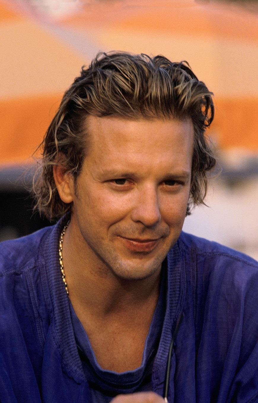 Mickey Rourke is going...